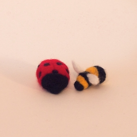 Ladybird and Bumble Bee
