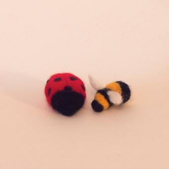 Ladybird and Bumble Bee