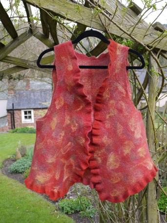 Autumn waistcoat